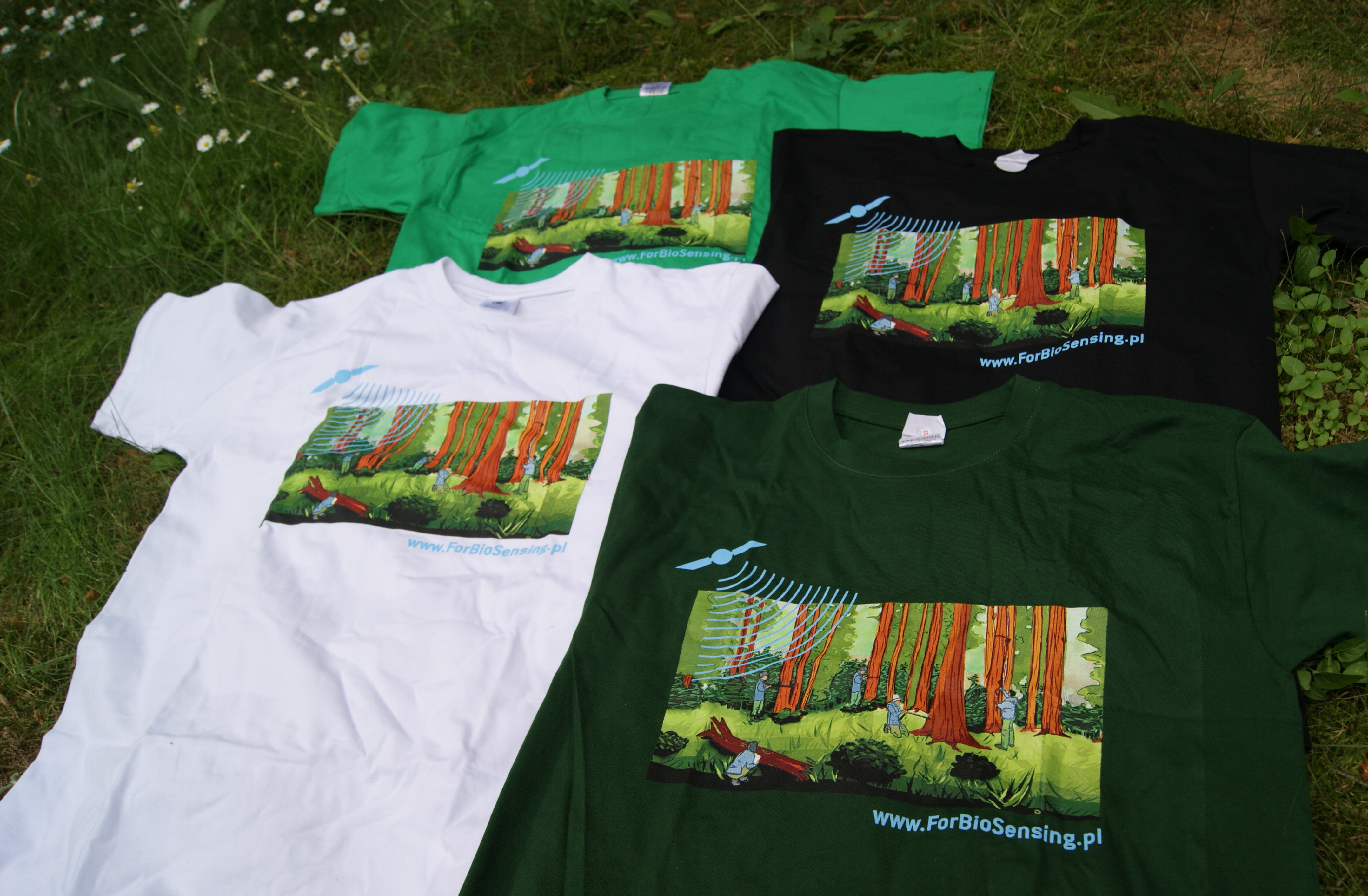 NEW PROMOTIONAL T-SHIRTS